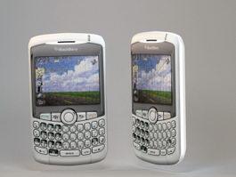 Blackberry Phone 3d model preview
