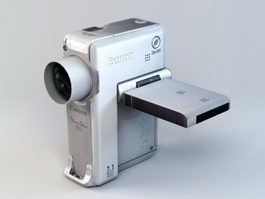 Canon PowerShot TX1 3d preview
