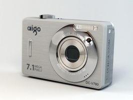 Aigo DC-V780 Digital Camera 3d model preview