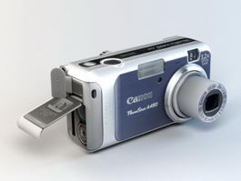 Canon PowerShot A450 3d model preview