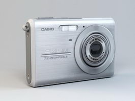 Casio EX-Z75 Digital Camera 3d model preview