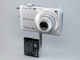 Casio Exilim Zoom EX-Z1050 3d preview
