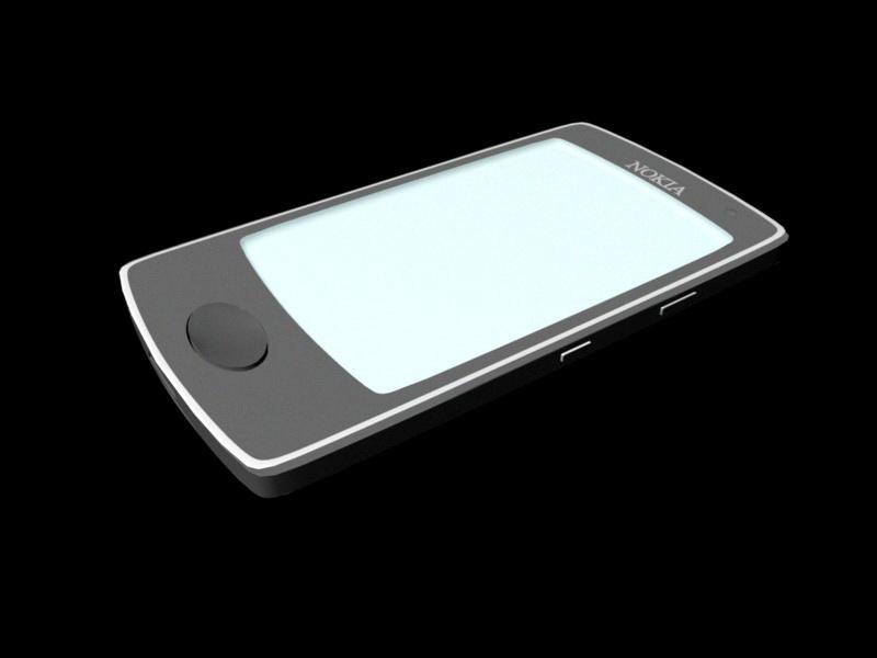 Nokia Smartphone 3d rendering