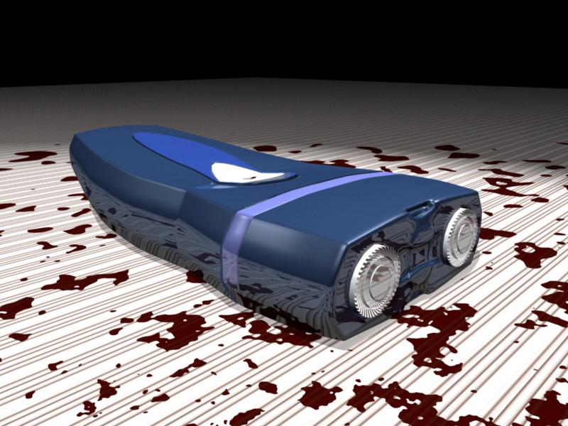 Electric Razor 3d rendering
