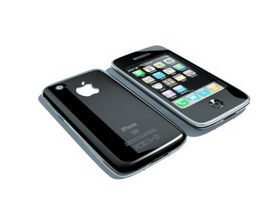 iPhone 3G 3d preview