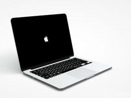 MacBook Pro 3d preview