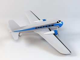 Toy Airplane 3d preview
