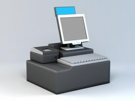 POS System 3d preview