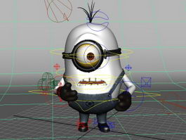Minion Stuart Rig 3d preview