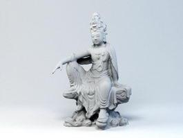 Vietnam Female Buddha 3d preview