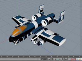 A-10 Warthog 3d preview