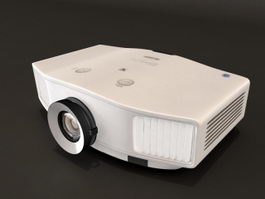EPSON EB-C520XH Projector 3d preview