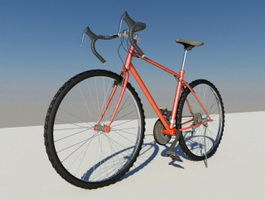 Racing Bicycle 3d preview