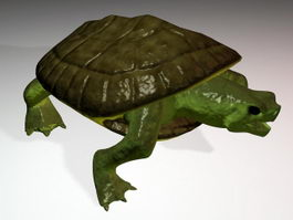 Turtle Figurine 3d preview