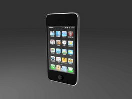 iPhone 4 3d model preview