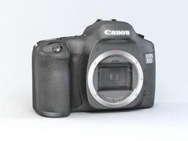 Canon EOS 5D 3d model preview
