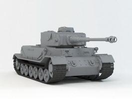 VK 4501 (P) Tiger 3d preview