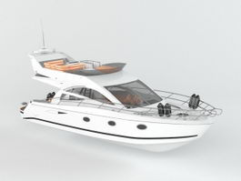 Small Yacht 3d preview