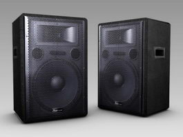 Studiomaster GX15 Passive PA Speakers 3d preview
