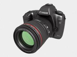 Canon EOS 5D Mark III 3d preview