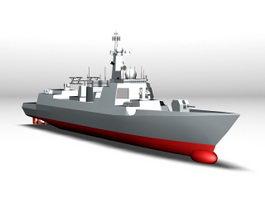 Type 052D Destroyer 3d preview