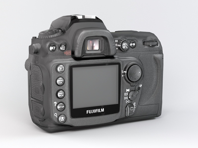 Fujifilm FinePix S5 Pro 3d rendering