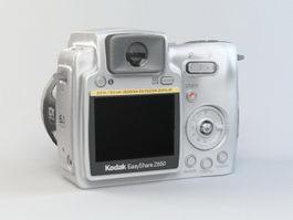Kodak EasyShare Z650 Camera 3d model preview
