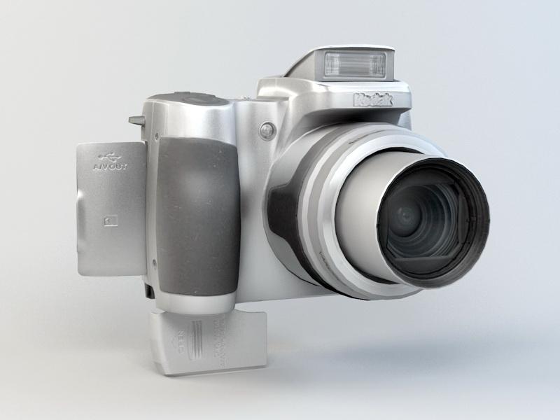 Kodak EasyShare Z650 Camera 3d rendering