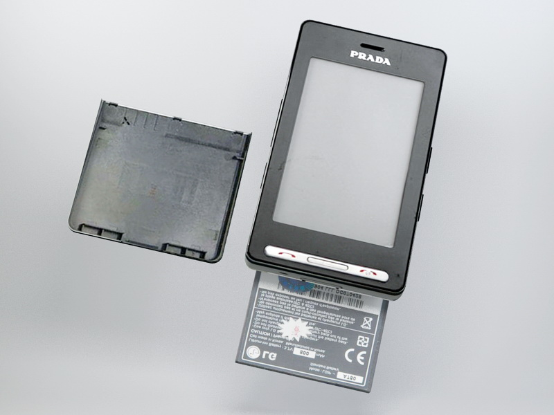 LG KE850 Prada 3d rendering