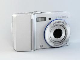 Samsung Digimax L73 Digital Camera 3d preview