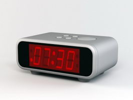 Digital Alarm Clock 3d preview