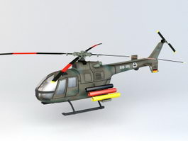 Bo 105P PAH-1 Helicopter 3d preview