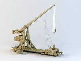 Counterweight Trebuchet 3d preview