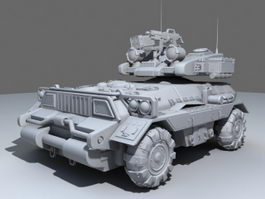 Ground Combat Vehicle 3d model preview