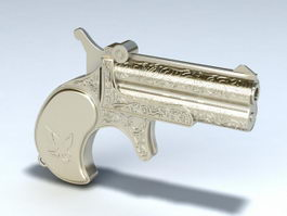 Old Pistol 3d preview