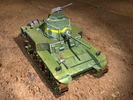 Modern American Tank 3d preview