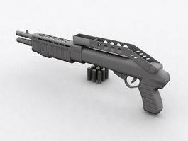 SPAS-12 Shotgun 3d preview