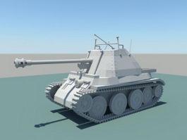 Vintage Tank 3d preview