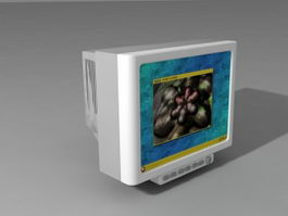 CRT Monitor 3d preview