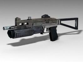 Tactical Shotgun 3d preview