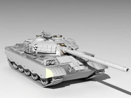 Type 59D Tank 3d preview