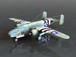 B-25 Bomber 3d preview