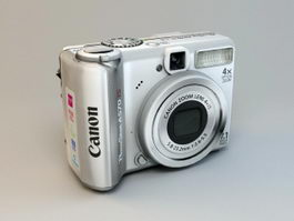 Canon PowerShot A570IS 3d preview