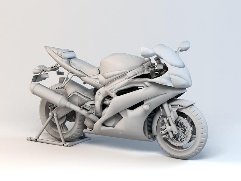 X-Bike 3d rendering