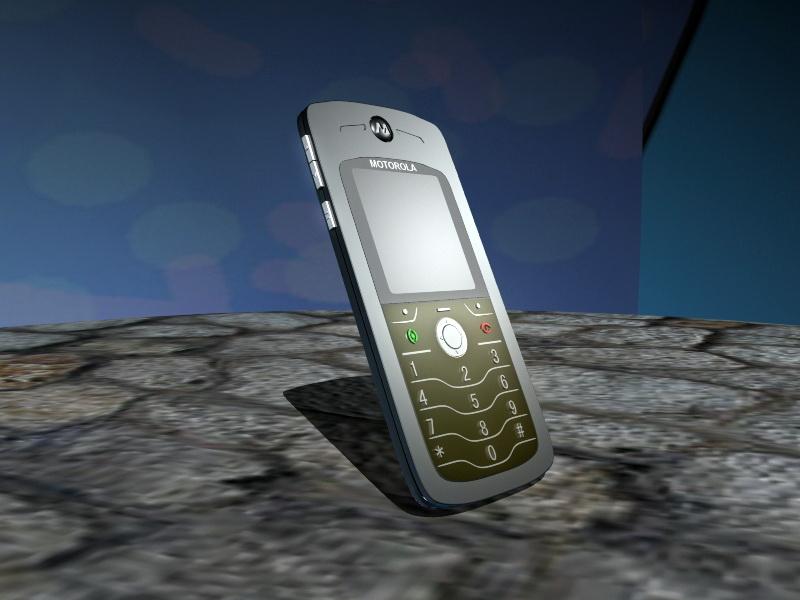 Motorola L7 Mobile Phone 3d rendering