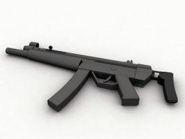HK MP5 3d preview