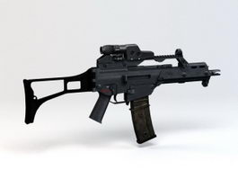 H&K G36C Rifle 3d preview