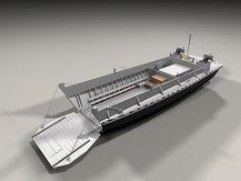 Amphibious Landing Craft 3d preview