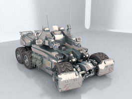 Future Combat Tank 3d preview