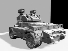 Future Ground Combat Vehicle 3d preview